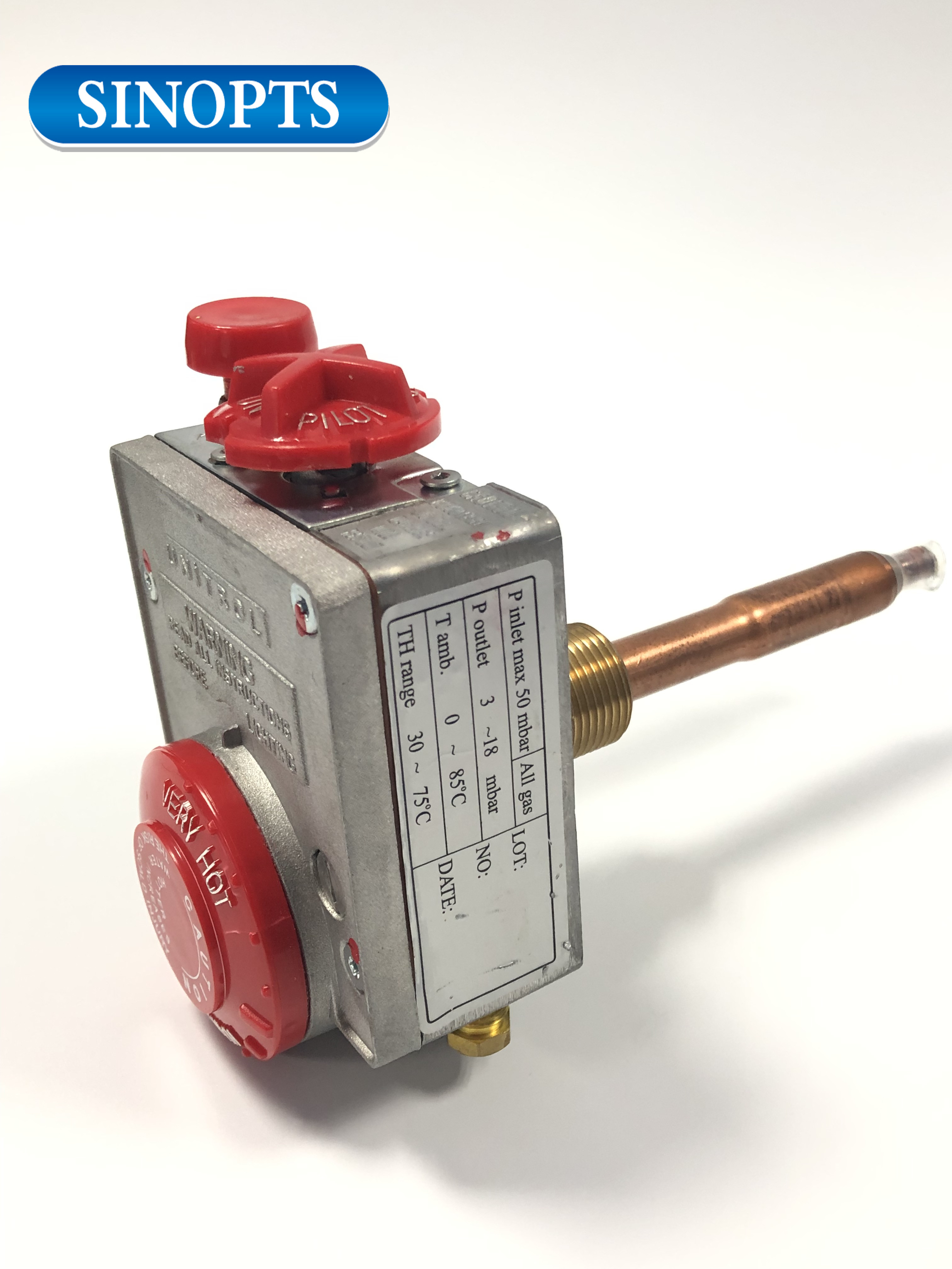 Sinopts Thermostat Water Heater Natural Gas Control Valve